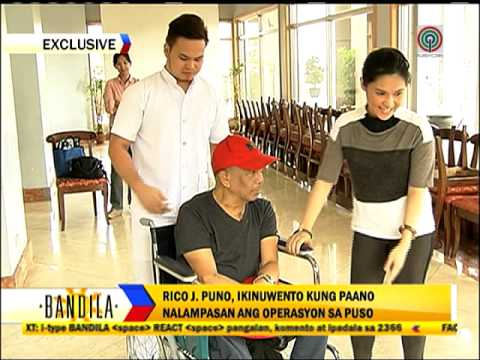 How Rico J. Puno stayed strong amid triple bypass operation
