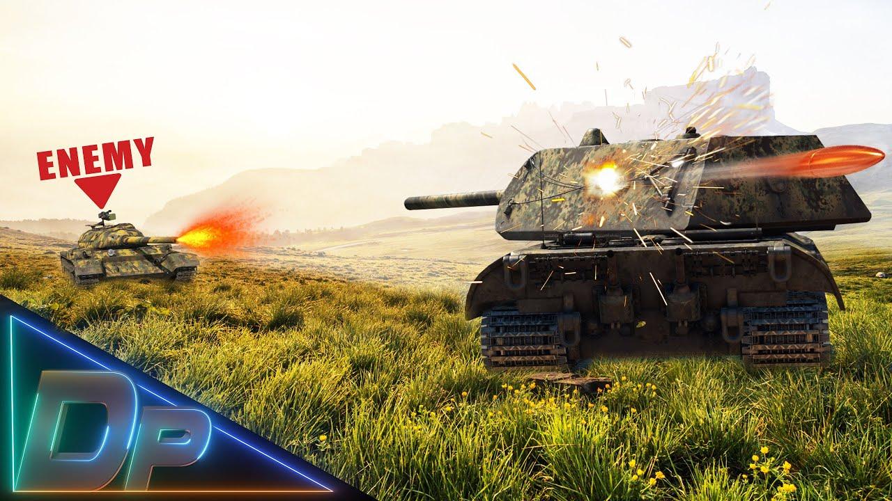 Did You Angle Your E100 Today? (War Thunder)