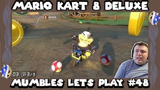 Mario Kart 8 Deluxe - Online Slip and Slide! - Mumbles Lets Play #48