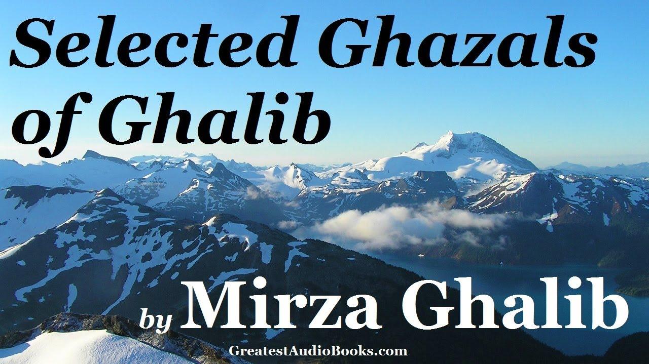 Ghalib book mirza shayari