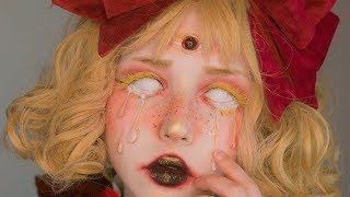 the doll from the attic / NYX Professional Makeup Face Awards Türkiye / challenge 1