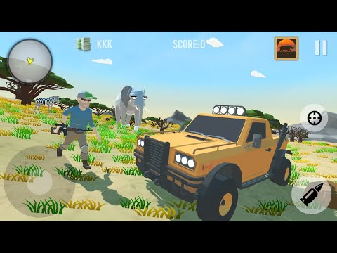 Polygon Hunting: Safari (by Oppana Games) - Android Game Gameplay