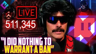 Dr Disrespect RESPONDS to Twitch Saying He's Done Nothing to Deserve Ban
