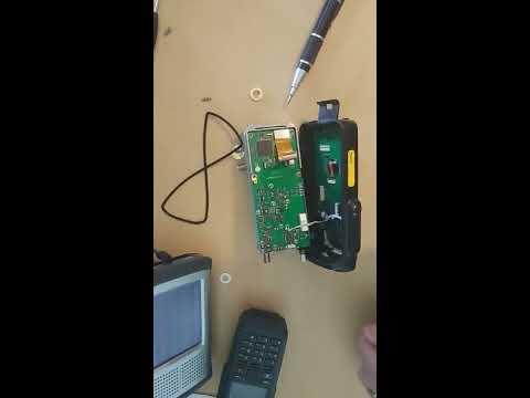 TYT MD 2017 DMR Radio SMA Antenna Repair Part 1