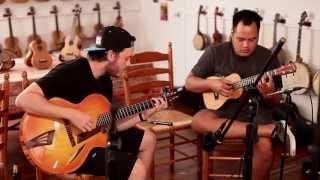Zach Shimizu - Corey Fujimoto-  Original Instrumental - After Hours @ TheUkuleleSite-