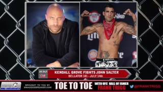Frank Trigg pre-fight interview with Bellator 181's Kendall Grove