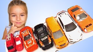 Toy Cars drive in the water Fun Video for kids