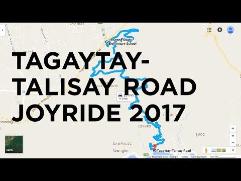 Philippine Roads #1 - Tagaytay-Talisay Road Joyride 2017