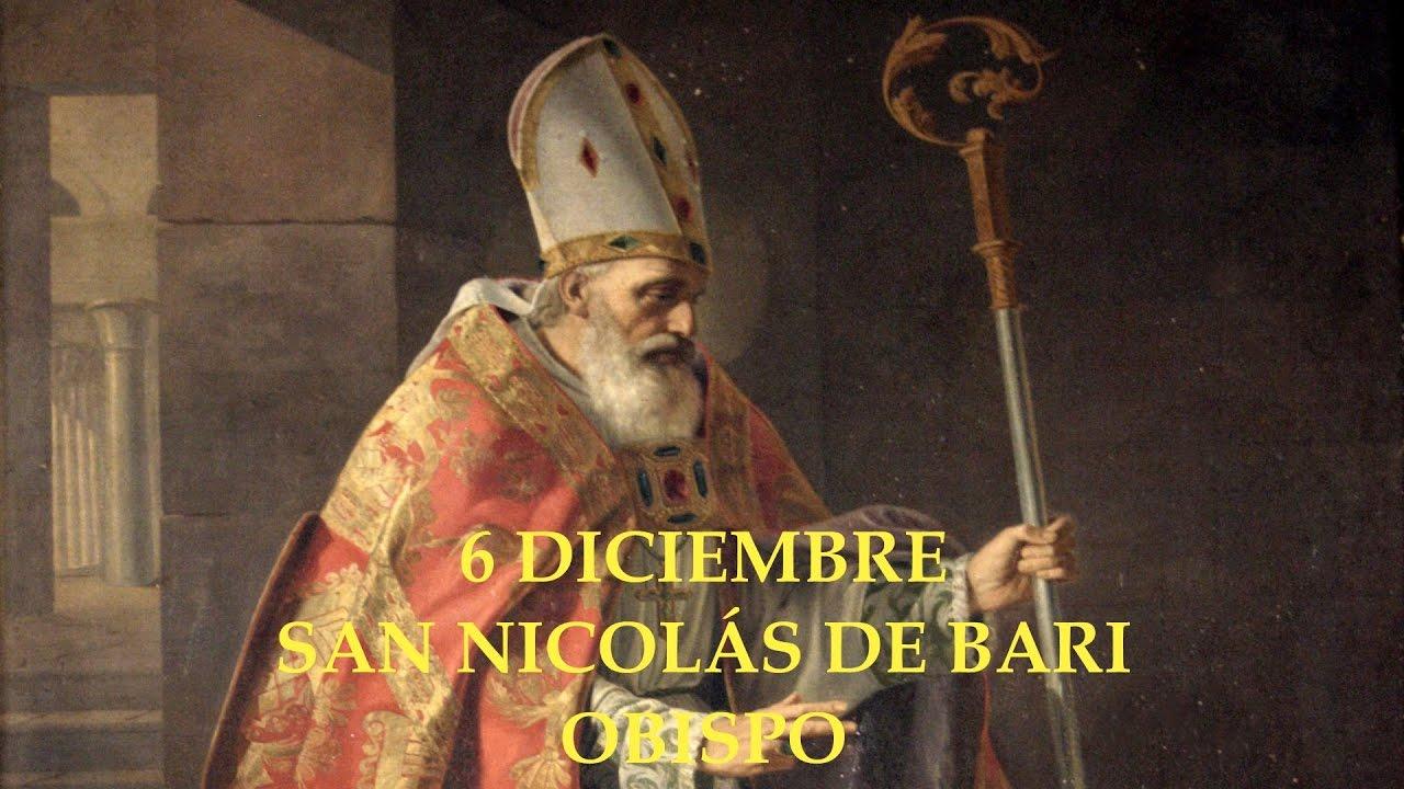 Resultado de imagen de obispo san nicolas de bari
