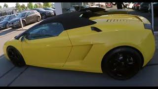 VLOG #8 - Lamborghini Gallardo Jahrescheck, 300 km/h auf der Autobahn & Chemnitz anschauen