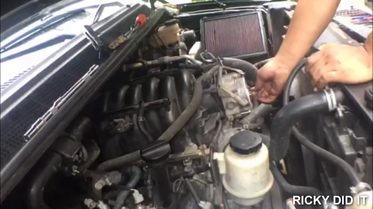 nissan titan exhaust manifold removal