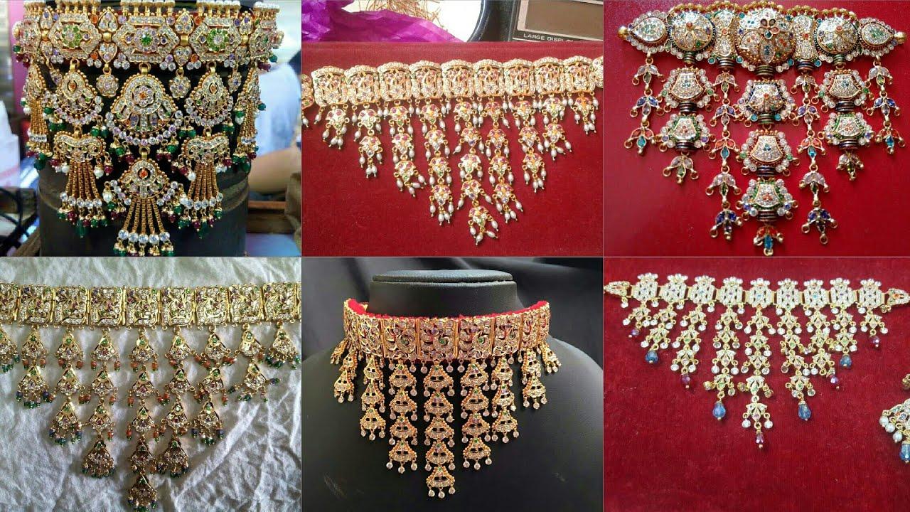 Rajputi Haar Design   Mohan kanthi Design   Haram Design ...