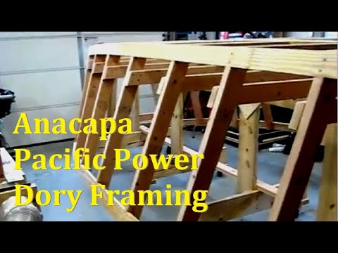 Anacapa Offshore Pacific Power Dory Framing
