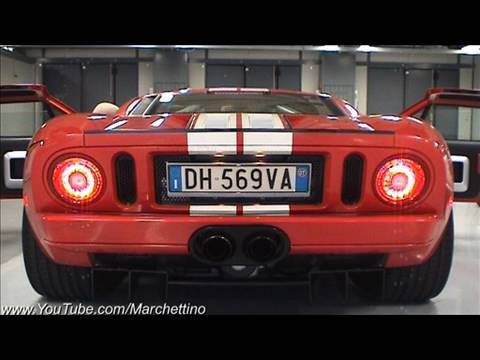 Ford Gt Loud Exhaust Sound