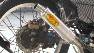 ECS Highspeed Pipe on a Honda XRM125