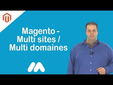 Magento - Multi sites/Multi domaines - Tuto Magento - Market Academy par Guillaume Sanchez