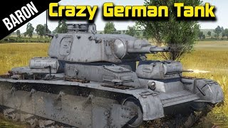 War Thunder - The Crazy German Tank, Neubaufahrzeug!