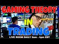 GAMING THEORY in TRADING - $14,000 DAY - HOW TO USE IT - WHY IT WORKS