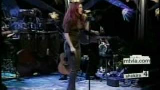 Shakira - No Creo [MTV Unplugged] With Lyrics