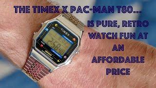 Timex x PacMan T80 Watch: Affordable Retro Watch Fun!