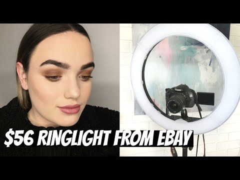 I BOUGHT A $56 RINGLIGHT ON EBAY | UNBOXING & REVIEW thumbnail