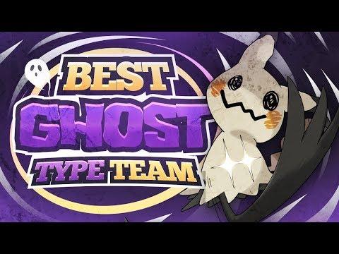 Best GHOST Type Pokemon Team