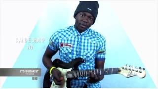 CONGOLESE SOUKOUS GUITAR TUTORIAL BY  ERASME