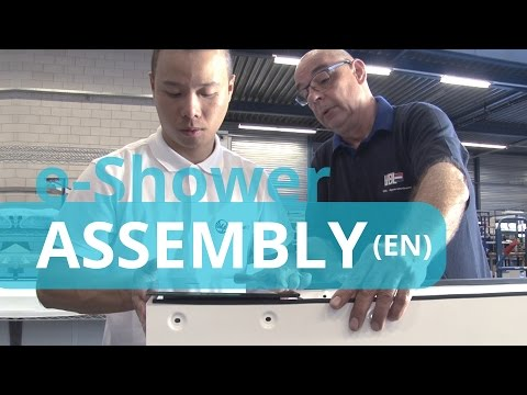 e-Shower Assembly in 1 Minute (English Subtitles)