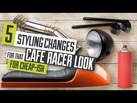 5 Styling Changes For That Cafe Racer Look For Cheap-ish