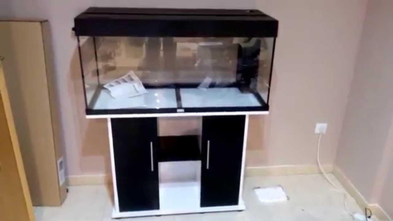 02 como pintar mesa de melanina para acuario youtube for Como pintar una mesa de madera