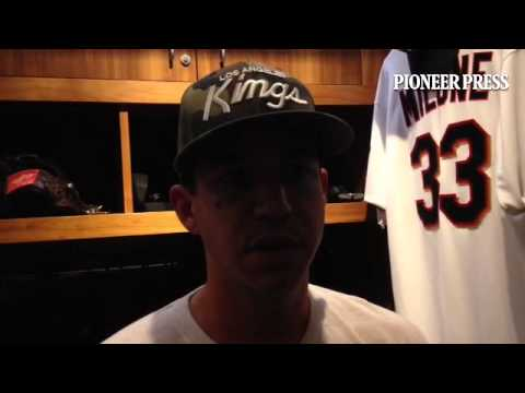 "Video; Tommy Milone calls it ""embarrassing"" after failing to hold a 5-0 lead in the second inning. #"