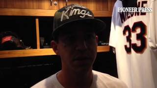 """Video; Tommy Milone calls it """"embarrassing"""" after failing to hold a 5-0 lead in the second inning. #"""