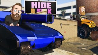 Hide And Seek With GIANT Monster Trucks! | GTA5