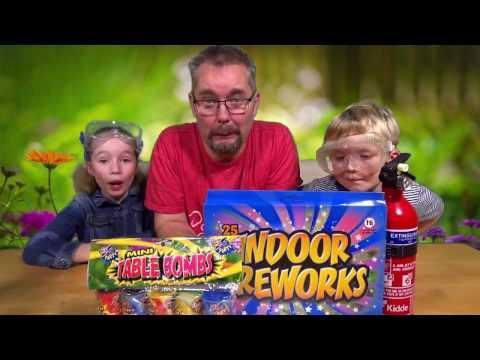 Wacky Wednesday 76 - Indoor Fireworks