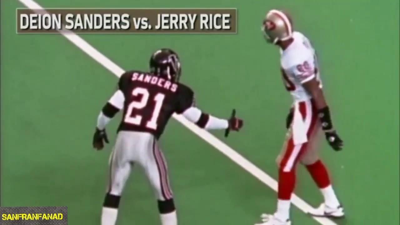size 40 67dd9 a5fc9 Deion Sanders vs Jerry Rice Summary | NFL Highlights HD