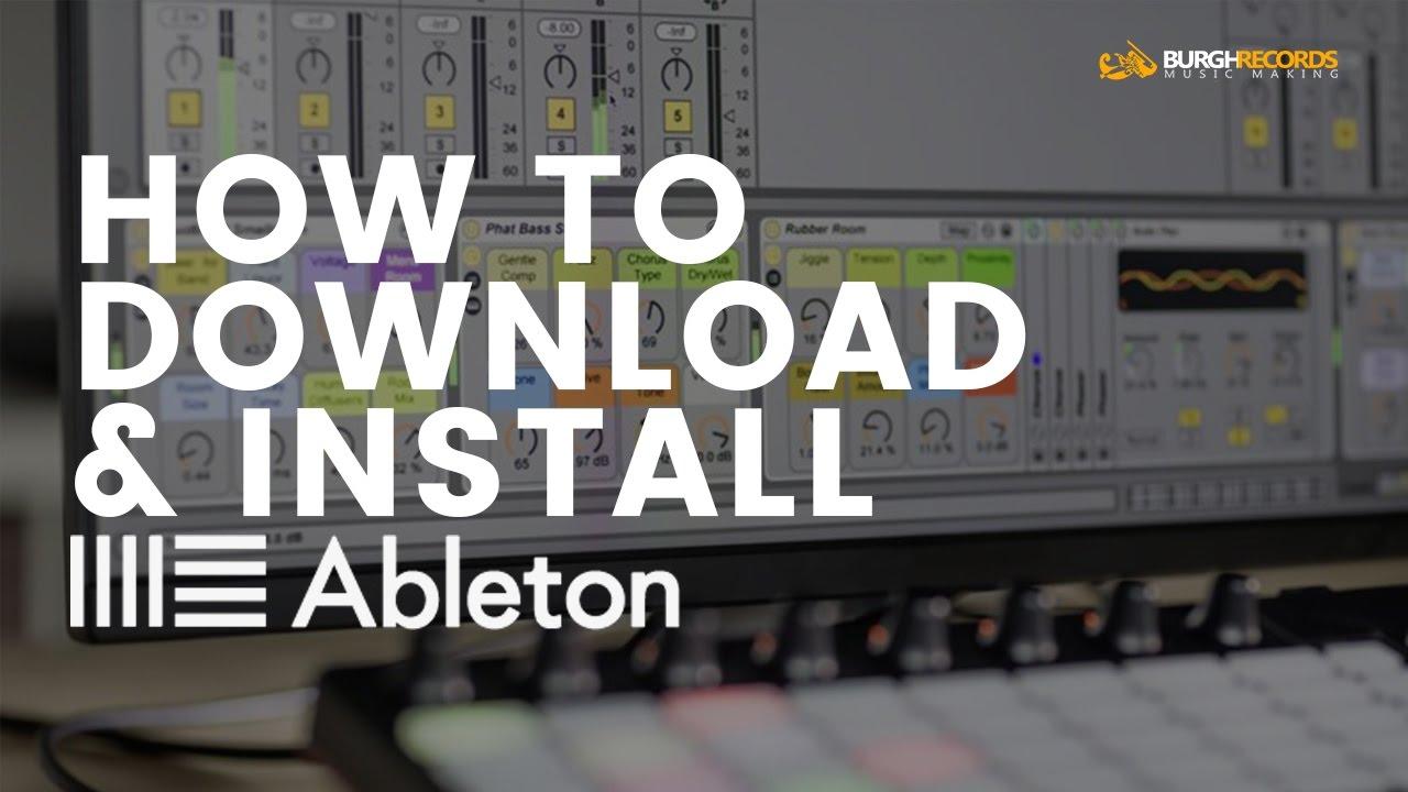 ableton live 9 trial crack download