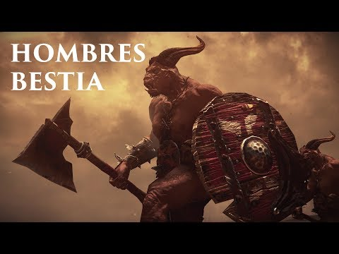 Total War: WARHAMMER   Hombres Bestia vs Bretonnia