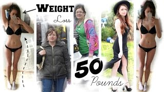 ♡ How I lost 50 pounds | How to lose weight+Skincare/Workout Routine 2015 | Sue Rose ♡