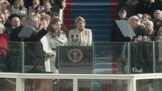 Jan. 20, 2005: Inaugural Ceremonies for George W. Bush