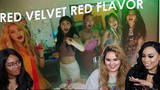 Red velvet - red flavor mv reaction || tipsy kpop