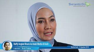 Download Video Steffy Angkat Bicara ke Awak Media di Aceh.  Sempat Bertengkar di Menit 15.  Ini Video Fullnya MP3 3GP MP4