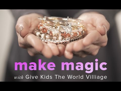 Make Magic with Give Kids The World Village   CHARITY BY DESIGN