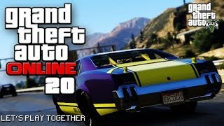 GTA ONLINE TOGETHER #020: Supersportwagen Megarennen [LET'S PLAY GTA V]