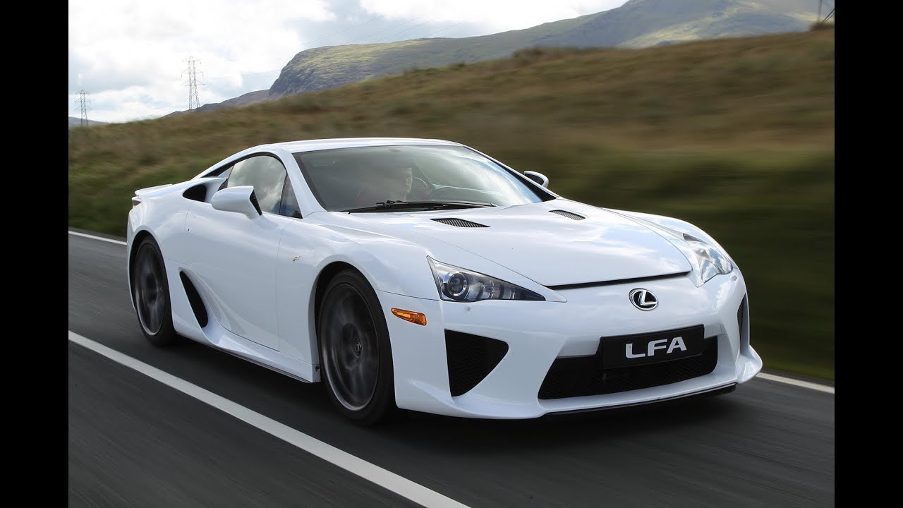 Top Gear 2014   Jeremy Clarkson Lexus LFA Review   YouTube