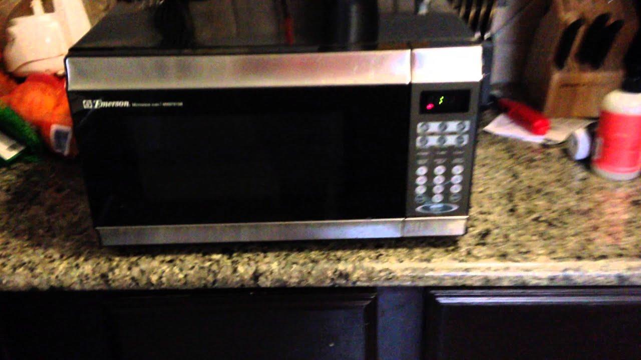 emerson mw8781sb microwave youtube
