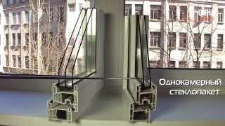 видео Стеклопакеты. Виды стеклопакетов