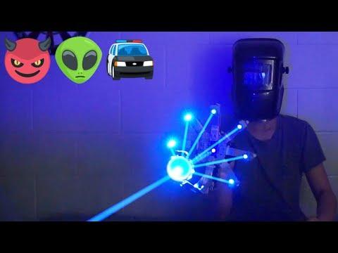 ★ Homemade Laser Death Star 20000mW Ray Gun