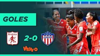América  vs. Junior (2-0)   Liga Femenina BetPlay Dimayor 2020 -Fecha 4