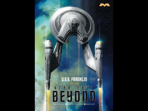 1/350 Moebius Star Trek  USS Franklin Model kit review