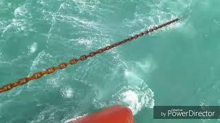 Ship anchor heaving up